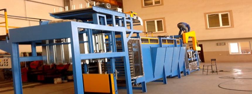 DINAMIK MACHINERY – RUBBER BATCH OFF WİTH SLIDING - ARCELIK FACTORY